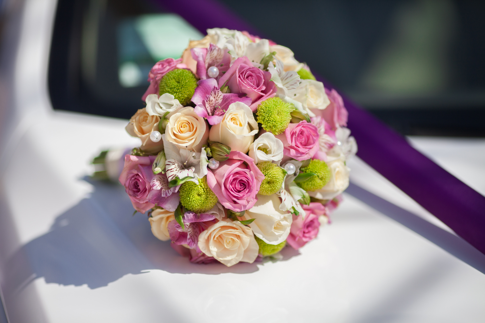 5 Steps to make a hand tied posies bouquet