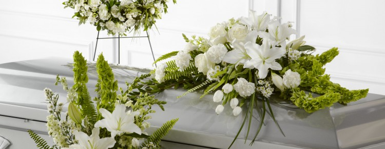 types of funeral flower arrangements